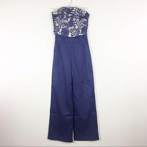 london dress company Pants - London Dress Company | Navy Jumpsuit - M3
